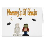 MOMMY'S Lil Ghouls (TWINS) Greeting Cards