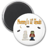 MOMMY'S Lil Ghouls (TWINS) Magnets