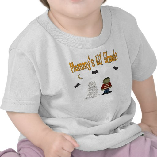 MOMMY'S Lil Ghouls (TWINS) Tees