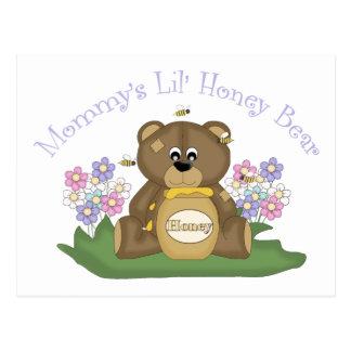 Mommy's Lil Honey Bear 2 Postcard