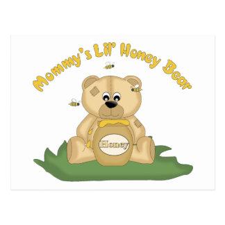 Mommy's Lil Honey Bear Postcard