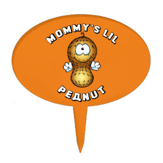 Mommy's Lil Peanut Cake Topper
