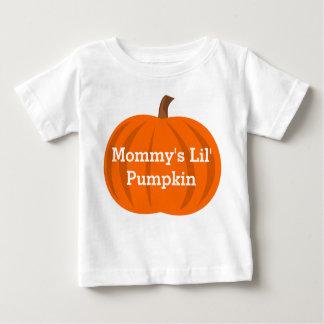 Mommy's Lil' Pumpkin Cute Halloween Baby Custom Baby T-Shirt