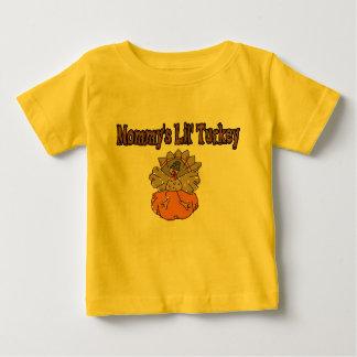 Mommy's Lil' Turkey Baby T-Shirt