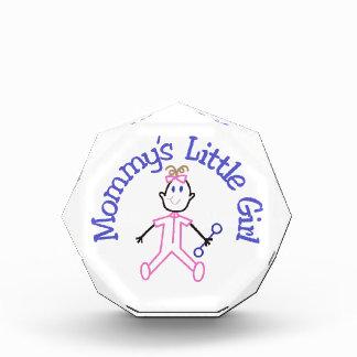 Mommys Litte Girl Acrylic Award