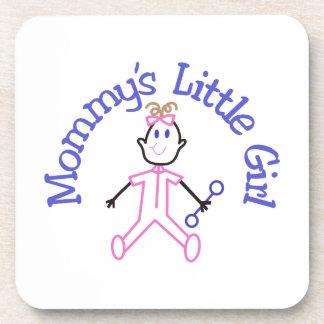 Mommys Litte Girl Drink Coaster