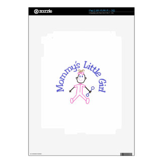 Mommys Litte Girl iPad 2 Decal