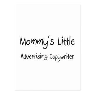 Mommy's Little Advertising Copywriter Postcard