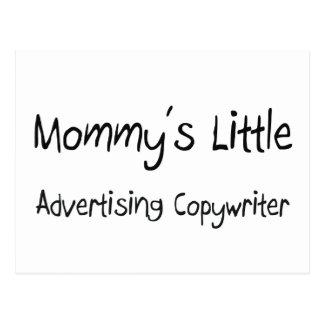Mommy's Little Advertising Copywriter Post Cards