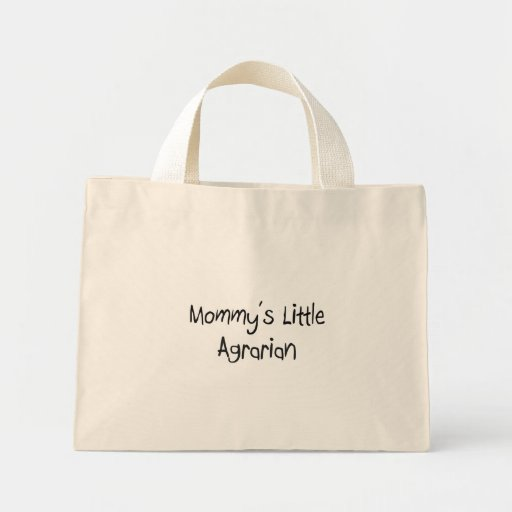 Mommy's Little Agrarian Tote Bags