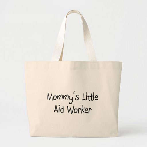 Mommy's Little Aid Worker Canvas Bag