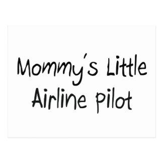 Mommy's Little Airline Pilot Postcard