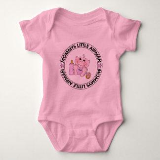 Mommys Little Airman (Girl) Baby Bodysuit