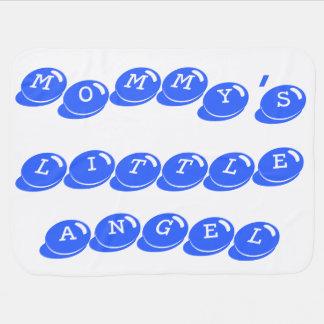 Mommy's Little Angel Blanket (Blue)