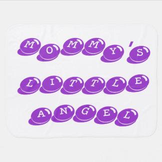 Mommy's Little Angel Blanket (Purple)