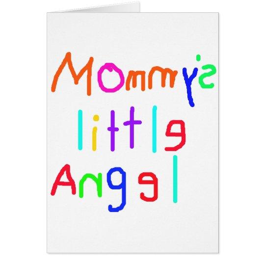 Mommy's Little Angel Card