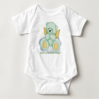 Mommy's Little Angel (green) Infant Creeper