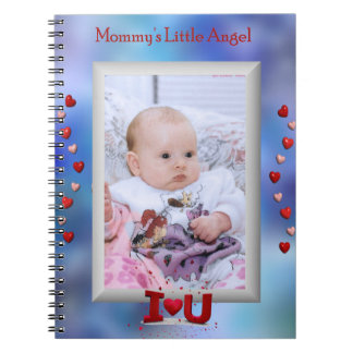 """Mommy's Little Angel"" little girl or boy notebook"