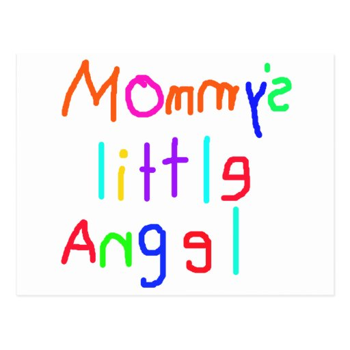 Mommy's Little Angel Post Card