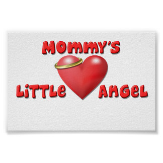 Mommy's Little Angel Print