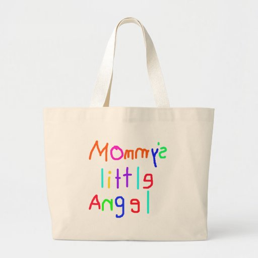 Mommy's Little Angel Tote Bags