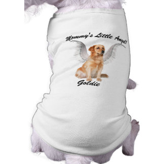 Mommy's Little Angel with Dog's Name Tee