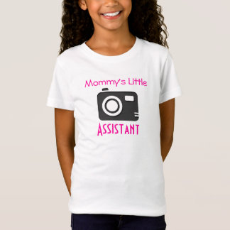 """Mommy's Little Assistant"" Girls' Fitted Shirt"