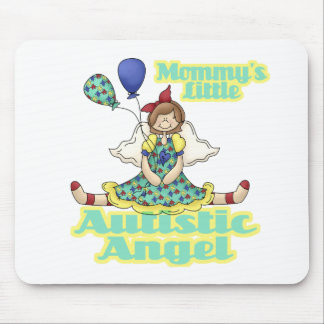 Mommys Little Autistic Angel Mouse Pad