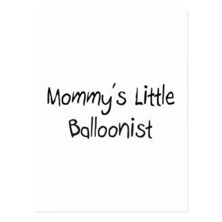 Mommy's Little Balloonist Postcard