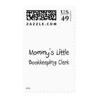 Mommys Little Bookkeeping Clerk Postage
