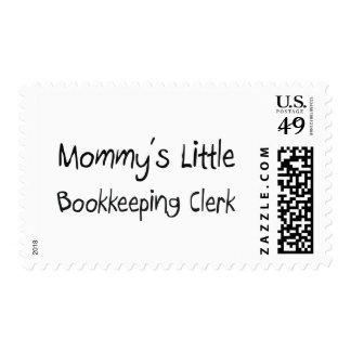 Mommys Little Bookkeeping Clerk Postage Stamp
