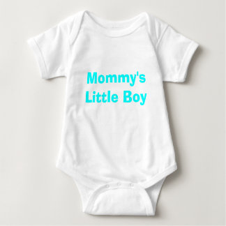 Mommy's Little Boy Baby Bodysuit