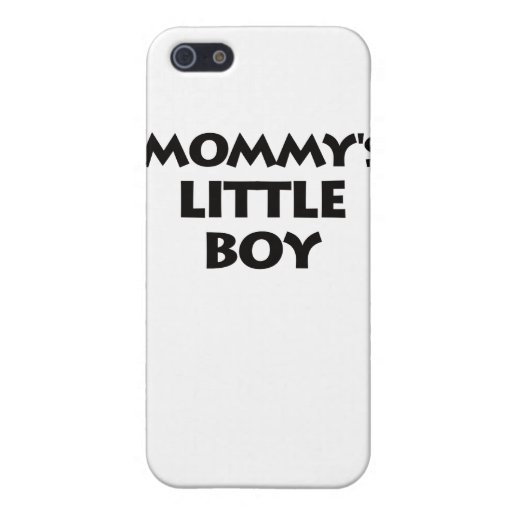 Mommy's Little Boy Case For iPhone 5