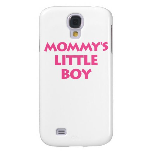 Mommy's Little Boy Galaxy S4 Cover