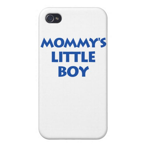Mommy's Little Boy iPhone 4/4S Cover