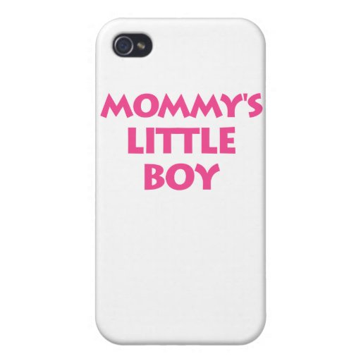 Mommy's Little Boy iPhone 4/4S Cases