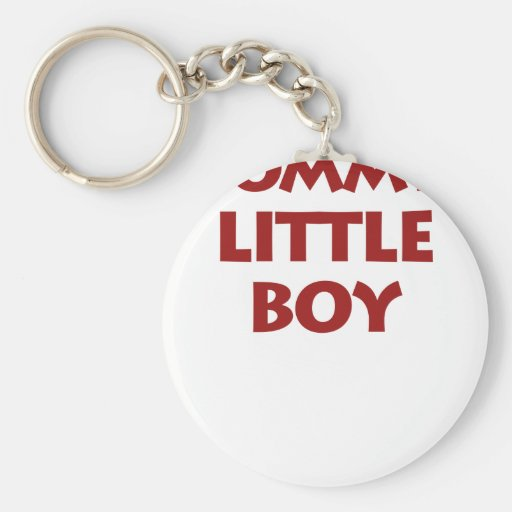 Mommy's Little Boy Keychains