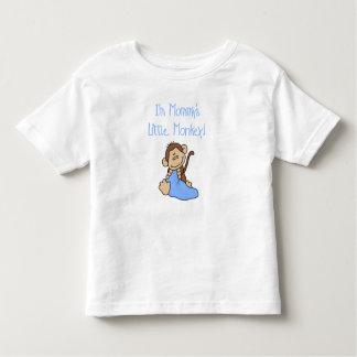 Mommy's Little Boy Monkey T Shirts