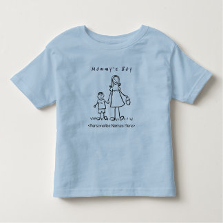Mommy's Little Boy - Mother & Son Custom T-Shirt