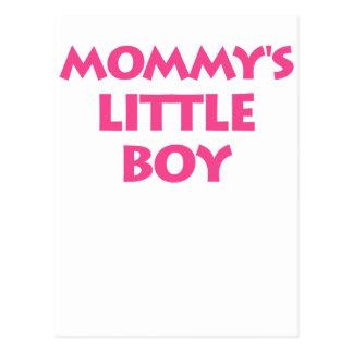 Mommy's Little Boy Postcard