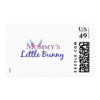 Mommy's little bunny postage