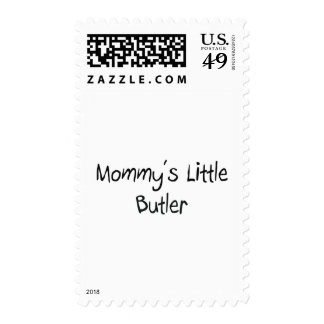 Mommys Little Butler Postage
