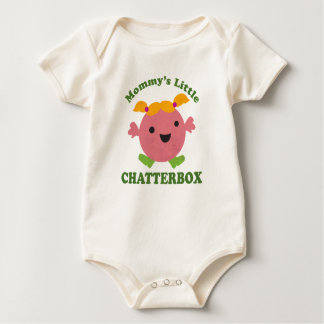 Mommy's Little Chatterbox Baby Bodysuit