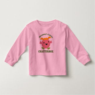 Mommy's Little Chatterbox Toddler T-shirt
