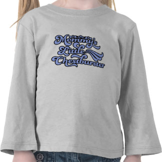 Mommy's Little Chestburster, Blue in 70's Style Tee Shirts