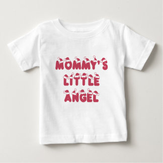Mommy's little (Christmas) angel Baby T-Shirt