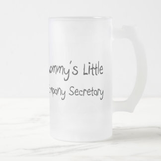 Mommys Little Company Secretary Coffee Mugs