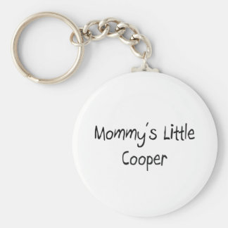 Mommys Little Cooper Keychains