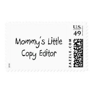 Mommys Little Copy Editor Postage