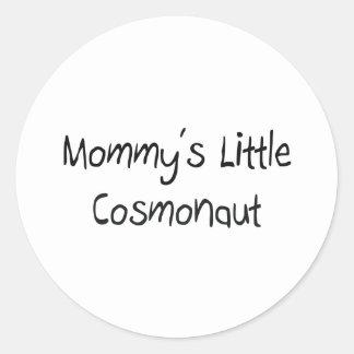 Mommys Little Cosmonaut Sticker